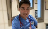 José Alexander Caballero, medico egresado de la UCC, campus Santa Marta..