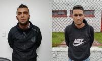 Alan Buriticá Durán, alias 'Maicol'; y Brahiam Manuel Manoche Cortesía.
