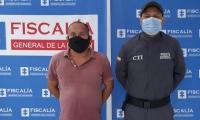 Jackson Tamayo Carihuasari, capturado por el CTI de la Fiscalía.