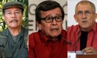 Nicolás Rodríguez Bautista, Israel Ramírez Pineda y Eliécer Erlinto Chamorro Acosta.