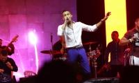 Juancho Fuentes, cantante vallenato.