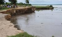 La erosión se volvió insostenible el pasado domingo 30 de agosto.