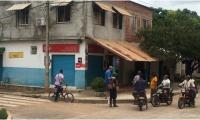 El asalto ocurrió en el local comercial de razón social granero Punto Central.