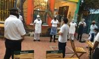 Inspección a restaurantes de Santa Marta.
