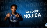 Bienvenida del Atalanta a Johan Mojica.