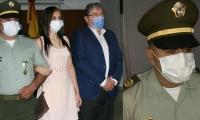 El intendente Pedro Alonso Ojeda Acosta fue condecorado por su valerosa actuación.