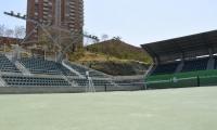 Parque Distrital de Raquetas, sede del Torneo Juvenil de Barranquilla.