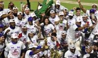 Celebración de Caimanes tras alcanzar el undécimo título.