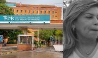 Hospital Julio Méndez y alcaldesa Virna Johnson.