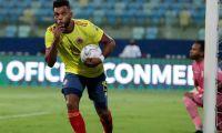 El atacante venía de marcarle doblete a Chile.