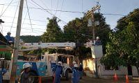 Procesos de trabajo en el barrio 11 de Noviembre.