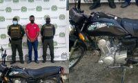 Mediante solicitud de antecedentes uniformados recuperaron motocicleta.