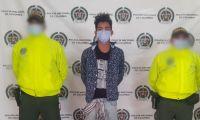 Juan Daniel García Sánchez, de 18 años de edad, presunto responsable de feminicidio.