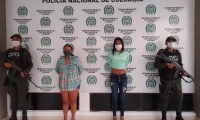 Estas fueron las dos personas capturadas.