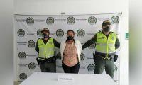 Cenobia Arias Córdoba, alias Griselda, presunta integrante de la estructura criminal Clan del Golfo, Bloque Pacífico.