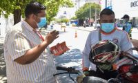 Las autoridades de movilidad iniciaron con la campaña de comparendos pedagógicos.