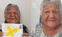 La publicación de la abuelita se hizo viral.
