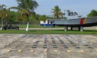 La droga era transportada en una lancha pesquera a 19 millas náuticas del sitio Punta Arenas.