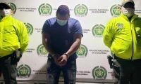 Alias 'Borrador' fue capturado por la Policía Metropolitana de Santa Marta.