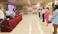 Esto se llevó a cabo en el marco del convenio docencia - servicio entre las entidades.