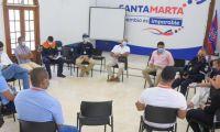 Mesa técnica para protección de cerros en Santa Marta.