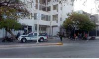 El asaltante fue atendido en la clínica Mar Caribe.