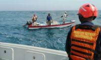 Pescadores rescatados en Cartagena.