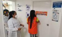 Los servicios de vacunación en la IPS Promagdalena fueron suspendidos.