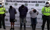Estas personas fueron judicializadas por el delito de aprovechamiento ilícito de los recursos naturales