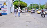 Calle de Valledupar.