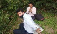 David Santiago y Elkin Ospina fueron los dos ingenieros secuestrados.