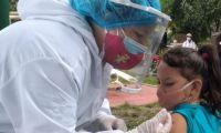 Vacunación infantil.