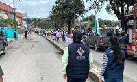 Marchas en Popayán.