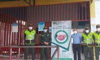 Policía descentraliza el centro de conciliación.