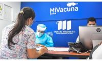 La Alcaldía Distrital comenzó este miércoles la tercera fase de la vacunación.
