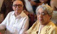 'Gabo' y su hermana Magarita.
