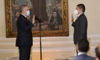 El presidente Iván Duque Márquez en la posesión le pidió una gran aceleración en el fomento de la producción científica.