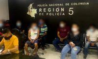 Sindicados del atentado presidencial.