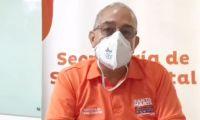 secretario de Salud Distrital, Henrique Toscano Salas