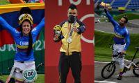 Mariana Pajón, Luis Javier Mosquera y Carlos Ramírez son los deportistas que han ganado medallas.