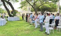 Eucaristía en la Universidad del Magdalena.