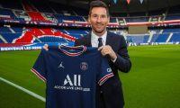 Lionel Messi presentado por el PSG.