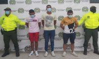 'Los Biker' capturados por la Policía.