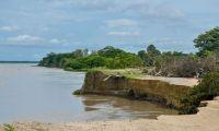 Erosión en Salamina amenaza con inundar el municipio.