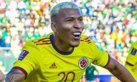 El cartagenero marcó el gol colombiano.