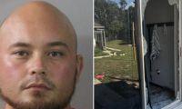 Brian Riley, asesino de la familia.