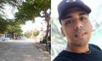 Kevin Arévalo Hernández víctima de atentado sicarial.