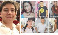 Enrique Vives Caballero (izq) era quien manejaba en la tragedia que dejó 6 fallecidos (derecha).