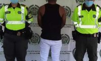 Policía capturó a Erick Alexander Gómez Mosquera