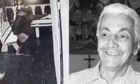 Imagen del ataque a bala y de Marcos Montalvo.